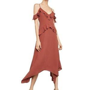 XS Lissa Asymmetrical Handkerchief-hem Slip